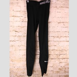 Nike Pro Black Leggings Sz XS Compression Tights